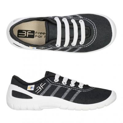 Детские кеды-тапочки 3F Fredom For Feet MIDAS 4RX14/9 серо-белые