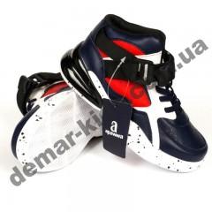 Детские полуботинки-кроссовки Apawwa MQ57 сине-красные