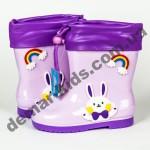 Детские резиновые сапоги Bona зайчик фиолетовые