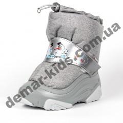 Зимние дутики Demar SNOWMEN 2 серебро 4010NE