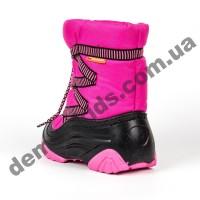 Зимние дутики Demar ZIG-ZAG A розовый 4025A