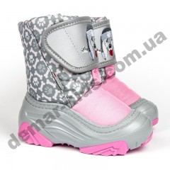Зимние дутики Demar Doggy 2 Light 4026NA розовые