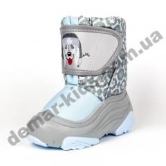 Зимние дутики Demar Doggy 2 Light 4026NB голубые