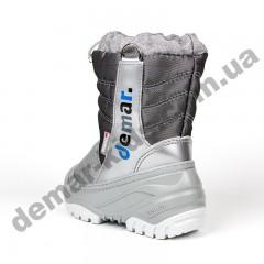 Зимние дутики Demar TEDDY серебро 4032E