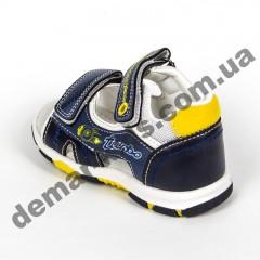 Детские босоножки Jong Golf  A911-17 сине-желтые