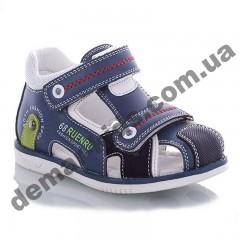 Детские босоножки Jong Golf  A906-17 сине-белые