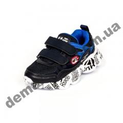 Детские кроссовки Kimbo-o газета сине-красные