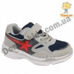 Детские кроссовки Том М 5662M серо-красные средние (звездочка)
