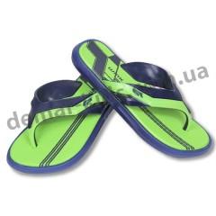 Детские сланцы ( шлепки, вьетнамки ) Wink сине-зеленые