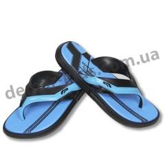 Детские сланцы ( шлепки, вьетнамки ) Wink черно-синие