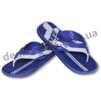 Детские сланцы ( шлепки, вьетнамки ) Wink сине-белые