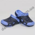 Детские кроксы (сланцы, шлепки, вьетнамки ) Wink сине-голубые