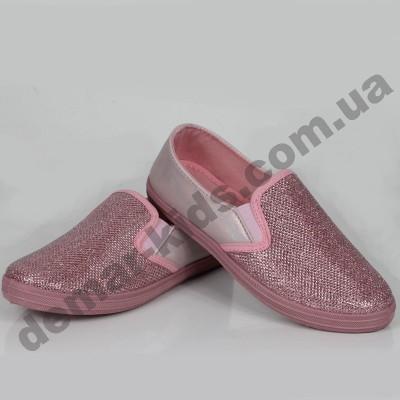 Детские слипоны SLIP ON Wink розовые