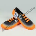 Детские кеды-тапочки 3F Fredom For Feet MIDAS 4RX14/3 оранжево-черные