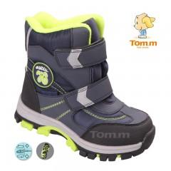 Детские термоботинки Том М сине-зеленые ( 76 )