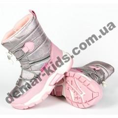 Детские термоботинки Том М C-T7882-A розовые 27-32
