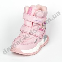 Детские термоботинки-дутики Том М C-T9527-A розовые 23-28
