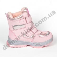 Детские термоботинки-дутики Том М C-T9381-D розовые 28-33