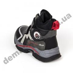 Детские ботинки Том М C-T9647-A черно-красные 27-32