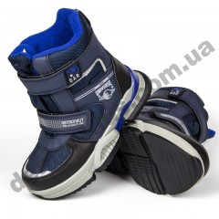 Детские термоботинки Том М C-T9379-C синие 28-33