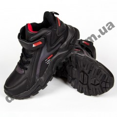 Детские кроссовки Baas K6147-1 черно-красные