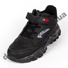 Детские кроссовки Baas K6161-1 черно-красные