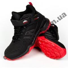 Детские кроссовки Baas K6150-11 черно-красные
