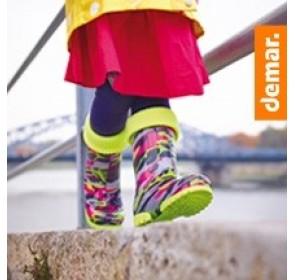 Демисезонная обувь - резиновые сапоги и не только.