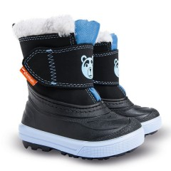 Зимние дутики Demar Bear A черно-голубые