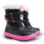 Зимние дутики Demar Bear B черно-розовые