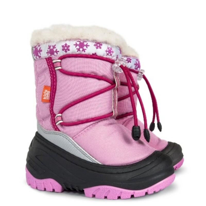 e3f6edb9b Купить детские зимние дутики demar FUZZY b розовый