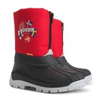 Детские зимние сапоги Demar NEW NORDIC (B) красный