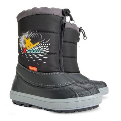 Детские зимние дутики Demar X-SNOW c черные
