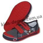 Детские кеды Super gear А 9885 / 9886 (серо-красные)
