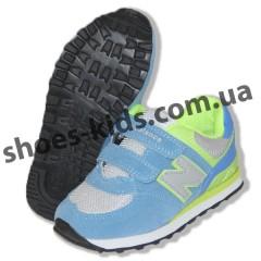 Детские кроссовки New Balance голубые
