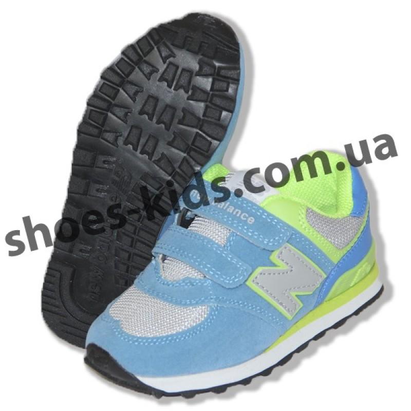 21cd0eba Купить детские кроссовки New Balance голубые в Киеве