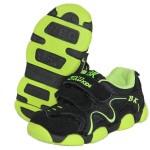 Детские кроссовки BIKU-KIDS черно-зеленые