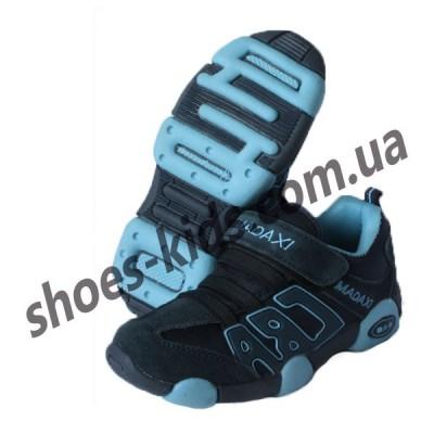 Детские кроссовки MADAXI  сине-голубые