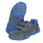 Детские кроссовки BIKU-KIDS серо-синие