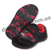 Детские кроссовки ZDL ( ZDILONG ) черно-красные