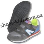 Детские кроссовки Super Gear серые