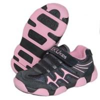 Детские кроссовки BIKU-KIDS серо-розовые
