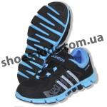 Детские кроссовки Adidas черно-синие ClimaCool