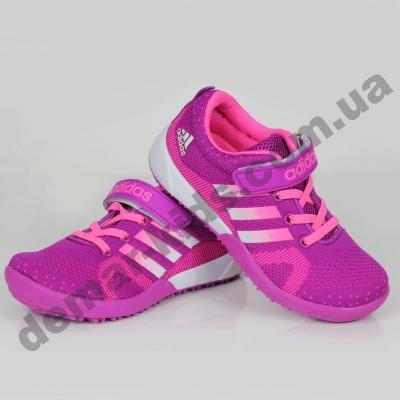 Детские кроссовки Adidas малиновые