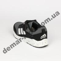 Детские кроссовки Bessky черно-белые
