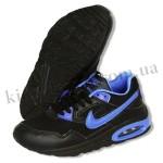 Детские кроссовки NIKE AIR MAX черно-синие