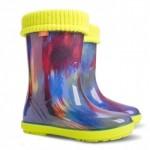 Резиновые сапоги HAWAI LUX PRINT af ( цветные штрихи )