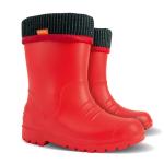 Детские резиновые сапоги DINO B ( красные )