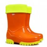 Детские резиновые сапоги TWISTER LUX FLUO c ( оранжевый )