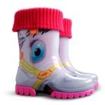 Детские резиновые сапоги TWISTER LUX PRINT HA ( пони )